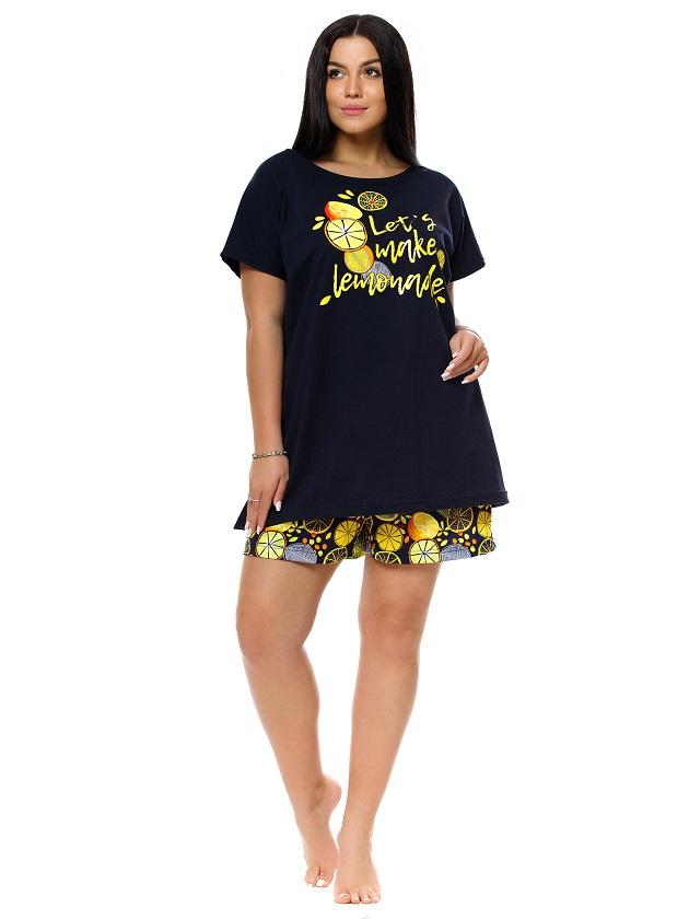 Изображение: Пижама с шортами Цитрус