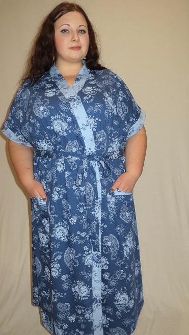Изображение: Халат запашной кимоно