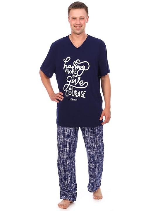Изображение: Пижама мужская с принтом