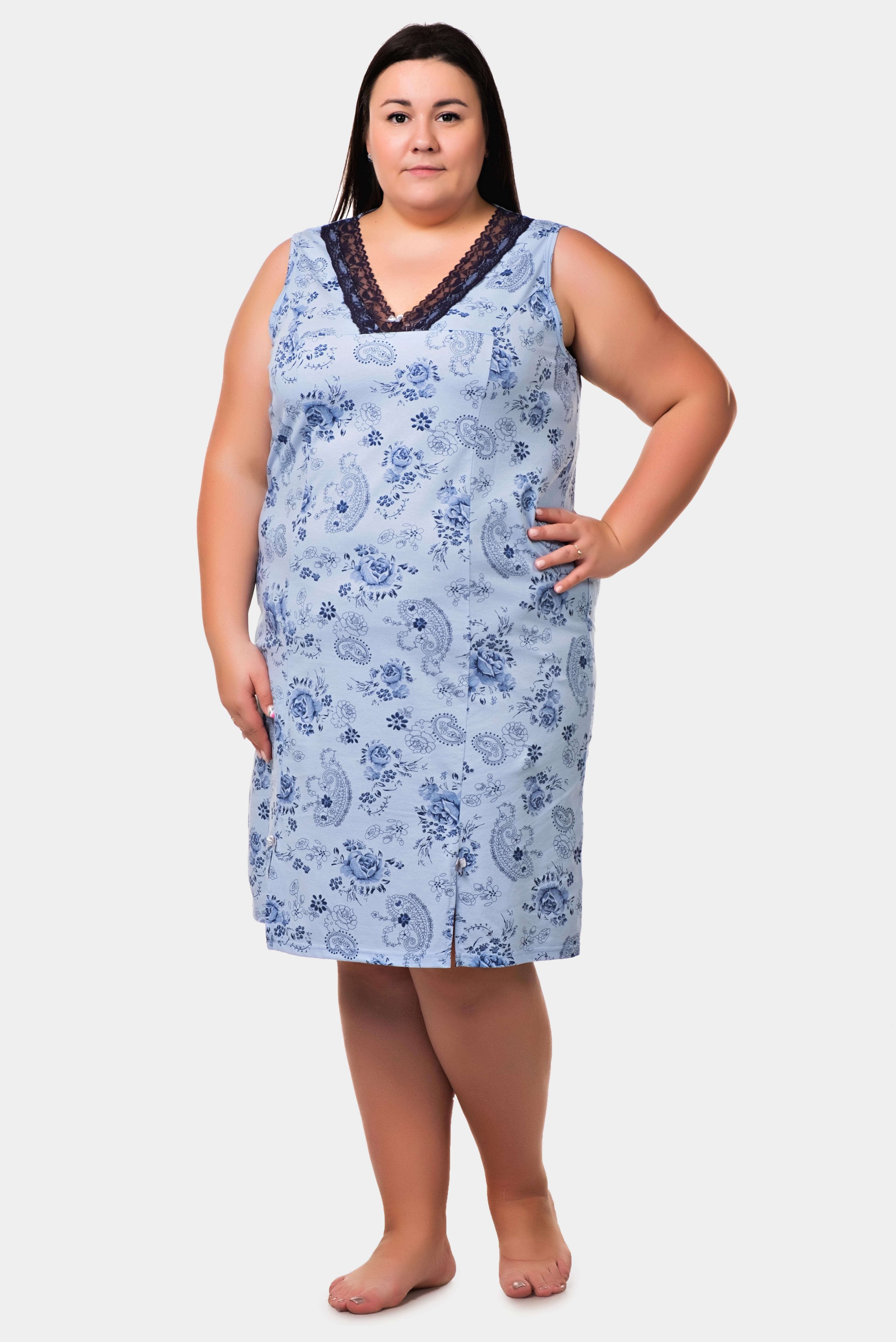 Изображение: Сорочка с кружевом