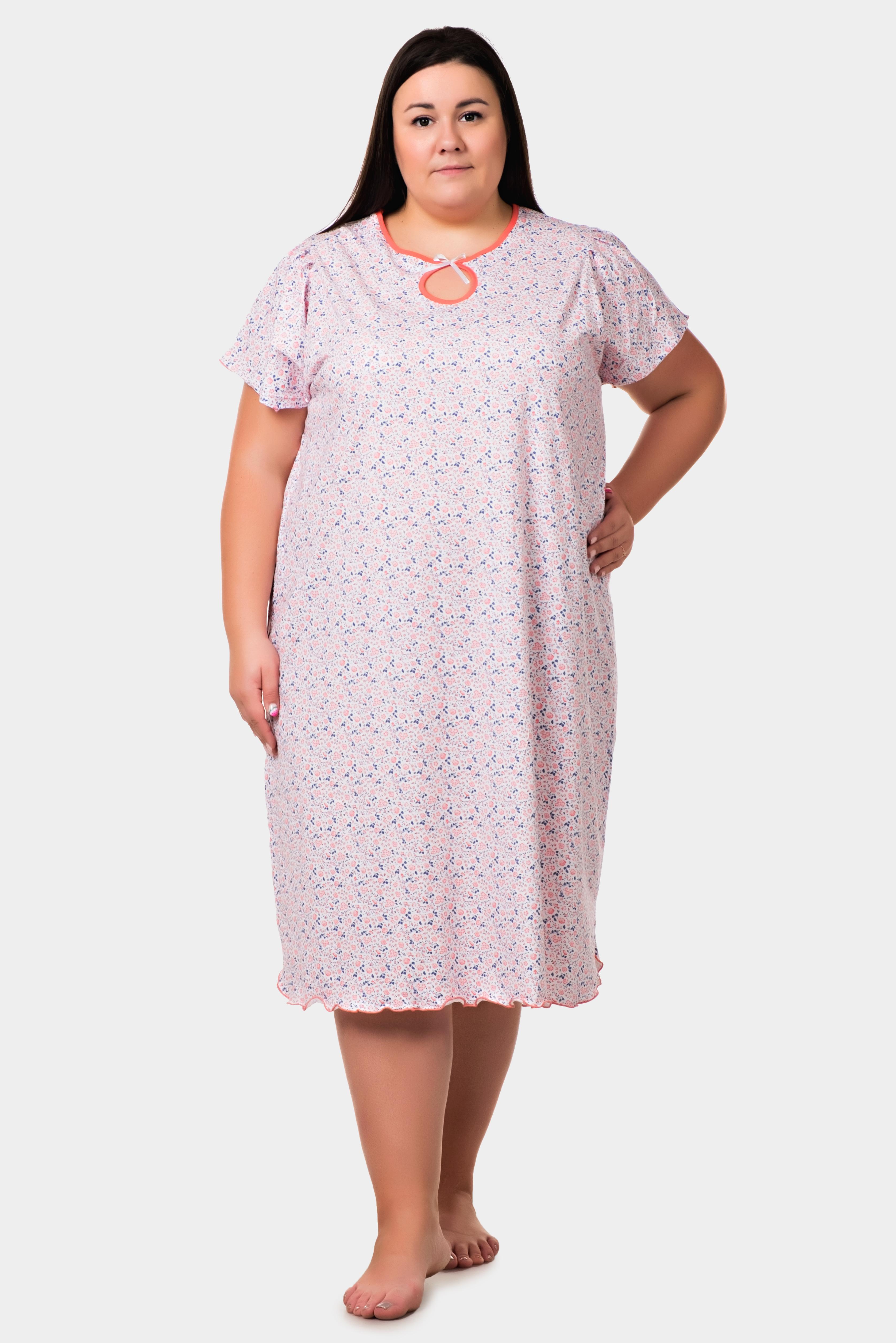 Изображение: Сорочка  с подрезами